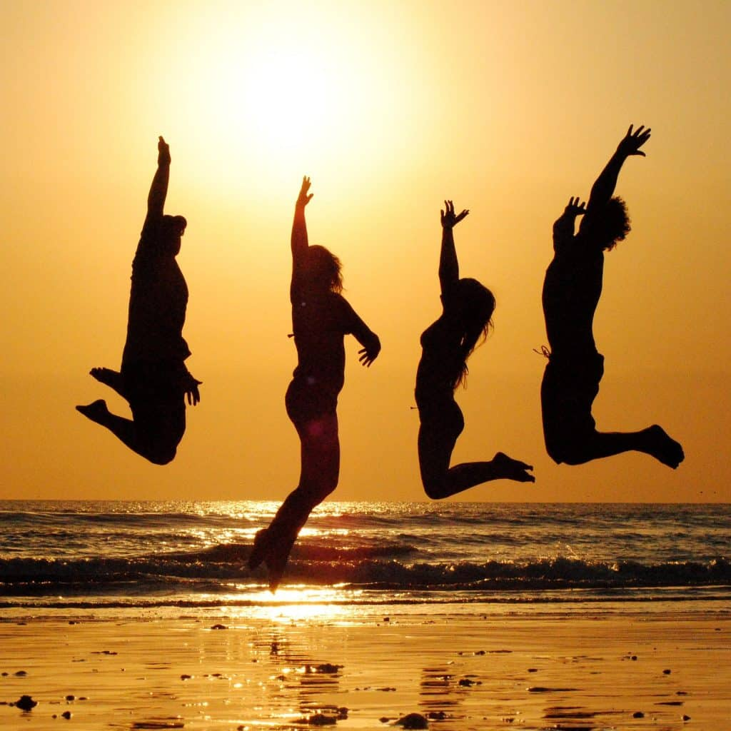 GROUP JUMPING FOR JOY min